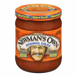 Newman's Own Salsa - Medium - 415ml