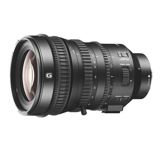 Sony E PZ 18-110mm F4 G OSS Lens - Black - SELP18110G