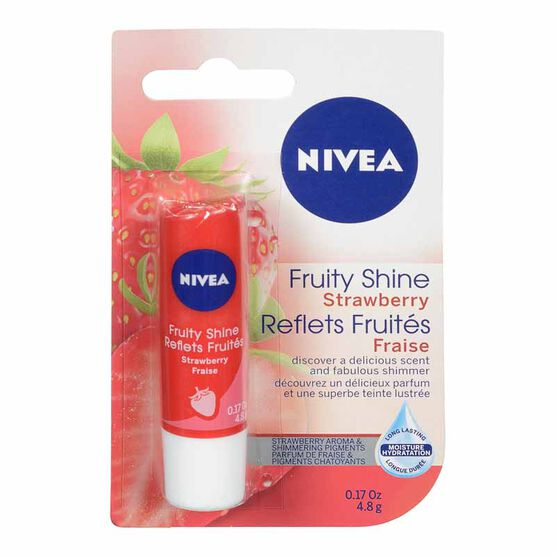 Nivea Fruit Shine Strawberry Lip Care - 4.8g