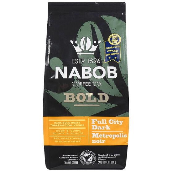 Nabob Full City Dark Coffee - Ground - Dark Bold Roast - 300g