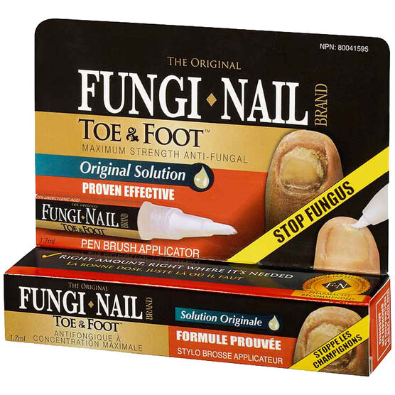 Fungi Nail Toe and Foot Pen - 1.7ml