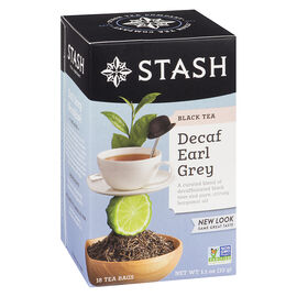 Stash Earl Grey Decaf Tea - 18's