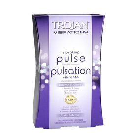 Trojan Vibrating Pulse Intimate Massager - Intense Pleasure - 90122