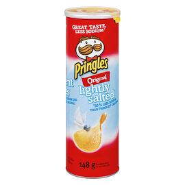 Pringles Potato Chips - Lightly Salted - 148g