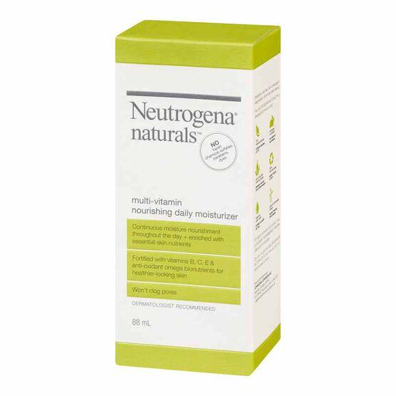 Neutrogena Naturals Multi-Vitamin Moisturizer - 88ml