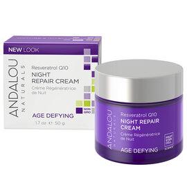 Andalou Naturals Resveratrol Q10 Night Repair Cream - 50ml