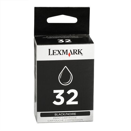 Lexmark 32 Ink Cartridge - Black - 18C0620