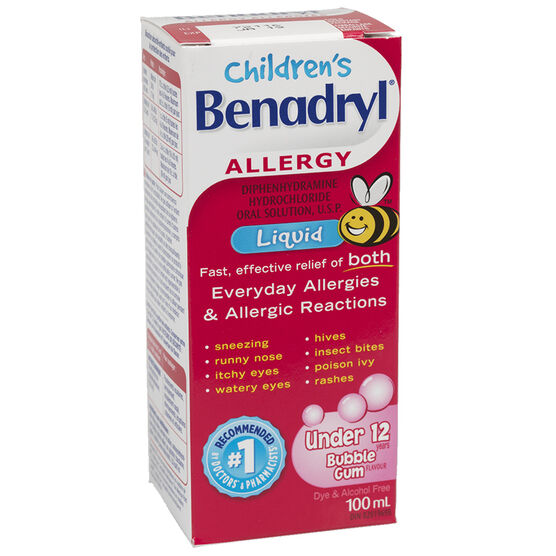 Benadryl Children's Allergy Liquid - 100ml