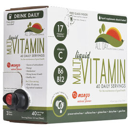 All Day Multi Vitamin Liquid - Mango - 40 servings