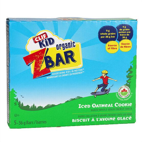 Clif Kid Organic Zbar - Oatmeal Cookie - 5 pack