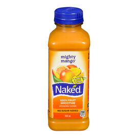 Naked Fruit Juice Smoothie - Mighty Mango - 450ml