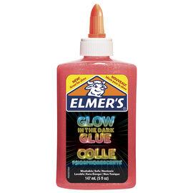 Elmer's Glow In The Dark Glue - Pink - 147ml