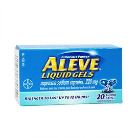 Aleve Liquid Gels - 220mg - 20's