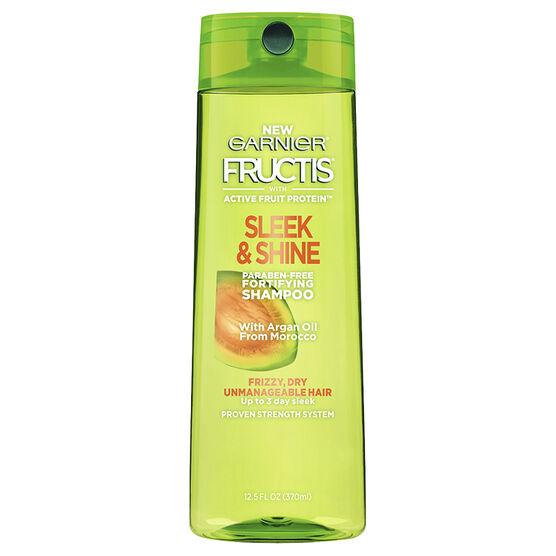 Garnier Fructis Sleek & Shine Shampoo - 370ml