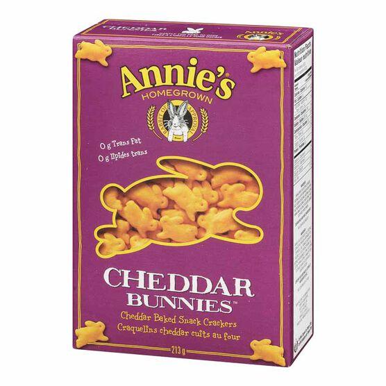 Annie's Cheddar Bunnies - 213g