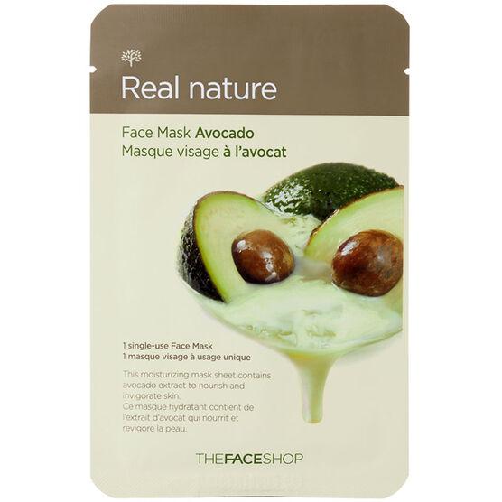 Real Nature Face Mask - Avocado - 20g