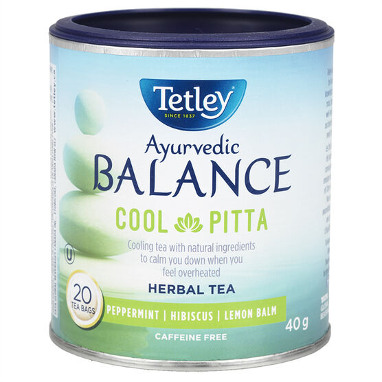 Tetley Balance Cool Pitta Tea - Peppermint - 20's