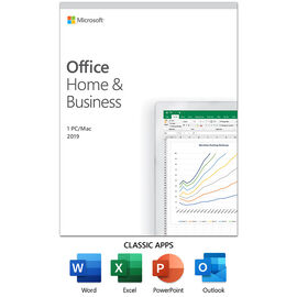 Microsoft Office Home & Business 2019 -1 PC/Mac