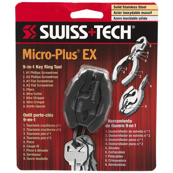 Swiss Tech Micro-Plus EX 9-in-1 Key Ring Tool
