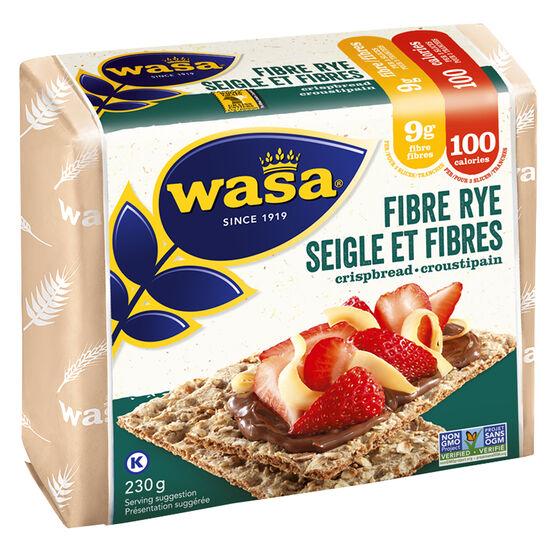 Wasa Fibre Rye Crispbread - 230g