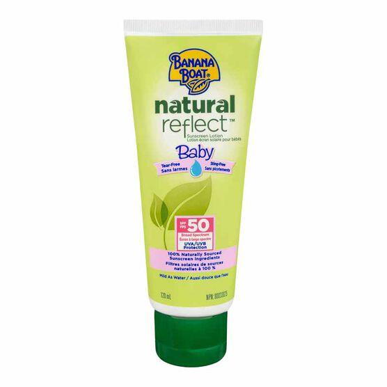 Banana Boat Natural Reflect Baby Sunscreen Lotion - SPF 50 - 120ml