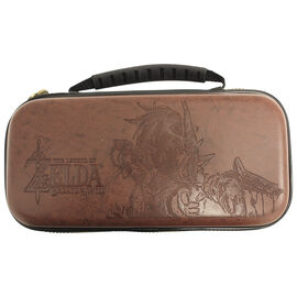 Nintendo Switch Zelda Case - Brown