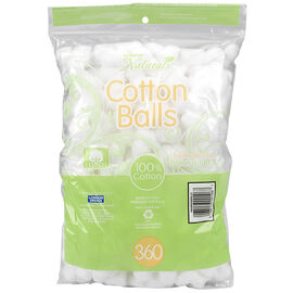 London Naturals Cotton Balls - 360's