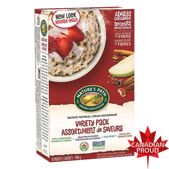 Nature's Path Hot Oatmeal - Variety Pack - 400g