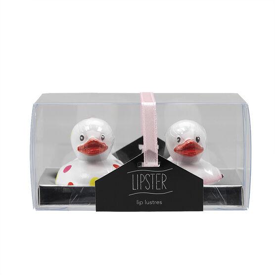 Star&Rose Lipsters Lip Gloss Set - Ducks - 2's