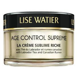 Lise Watier Age Control Supreme La Crème Sublime Riche - 50ml
