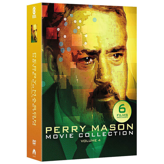 Perry Mason Movie Collection: Volume 4 - DVD