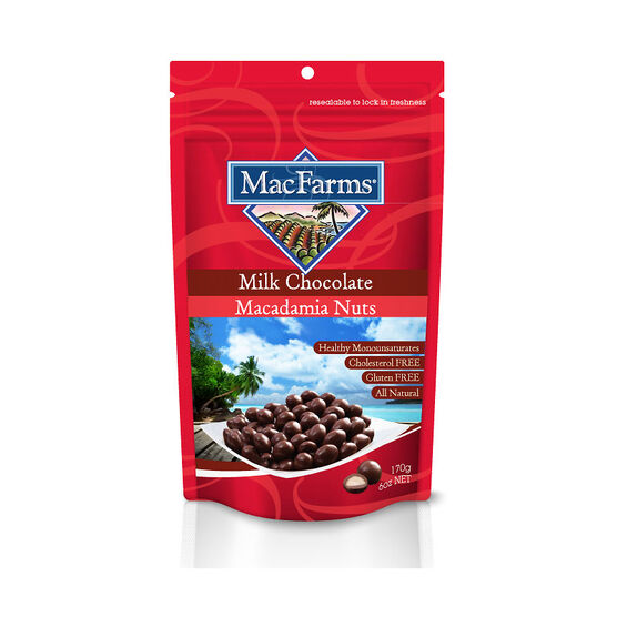 MacFarms Macadamia Nuts - Milk Chocolate - 170g