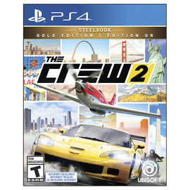 PS4 The Crew 2: Gold Steelbook Edition