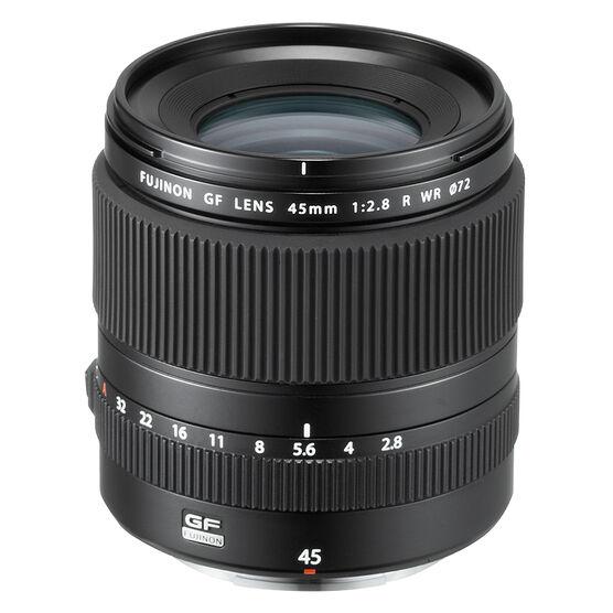 Fujifilm GF 45mm F2.8 R WR Lens - Black - 600019132
