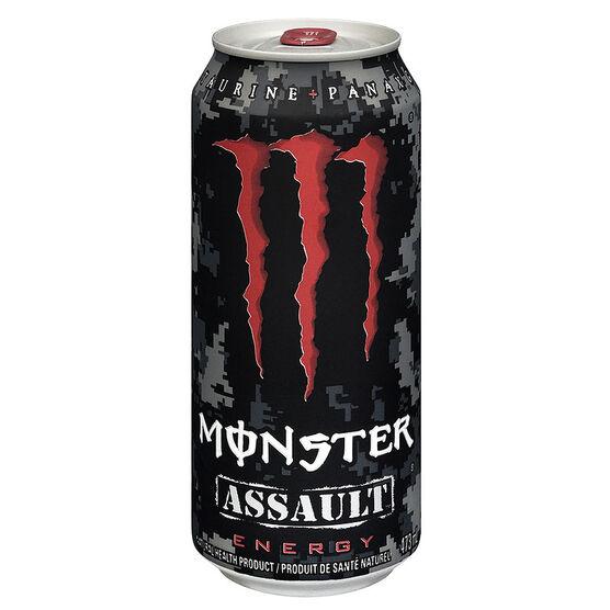 Monster Energy Drink Assault - 473ml