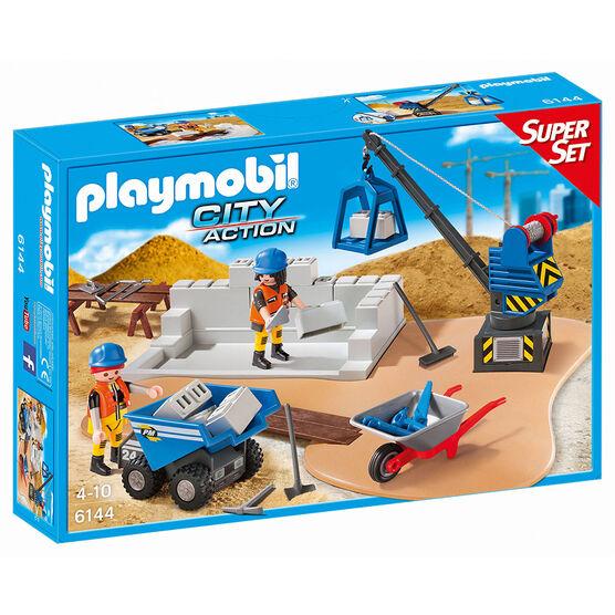 Playmobil Construction Site - 61447