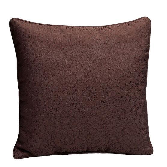 London Drugs Brocade Cushion - Brown
