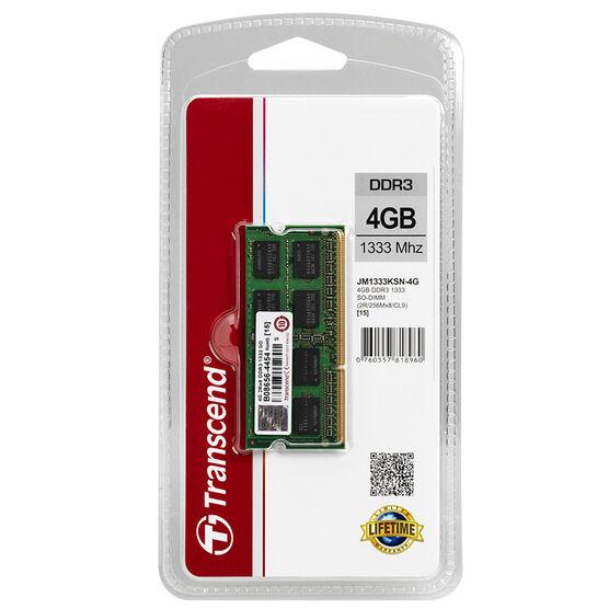 Transcend 4GB DDR3 1333 SO-DIM - JM1333KSN-4G