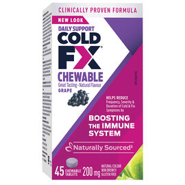 Cold-FX Chewable - Grape - 45's