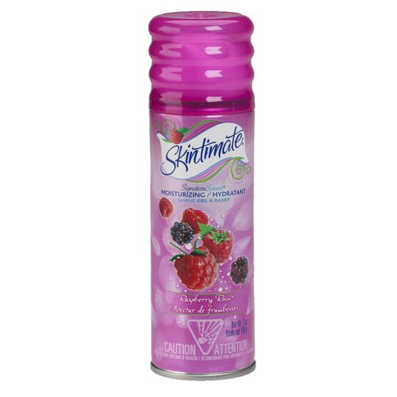 Skintimate Signature Scents Moisturizing Shave Gel - Raspberry Rain - 198ml