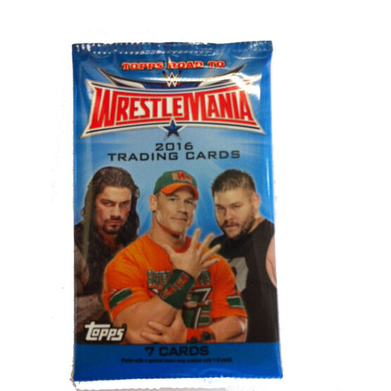 Wrestlemania 2016 Trading Cards