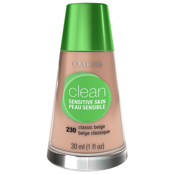CoverGirl Clean Liquid Makeup for Sensitive Skin