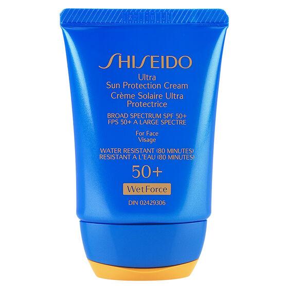 Shiseido Ultra Sun Protection Cream SPF 50+ WetForce - 30ml