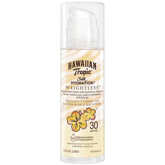 Hawaiian Tropic Silk Hydration Weightless Sunscreen Lotion - SPF30 - 150ml