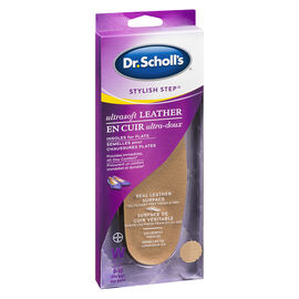 Dr. Scholl's Ultrasoft Leather Insoles for Flats - Women's 6-10