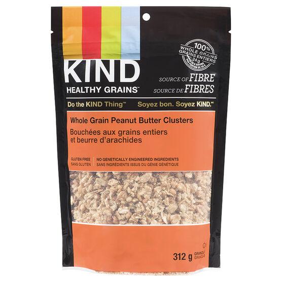 Kind Peanut Butter Whole Grain Clusters - 312g