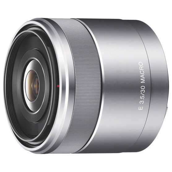 Sony NEX E Mount 30mm f/3.5 Macro Lens - SEL30M35
