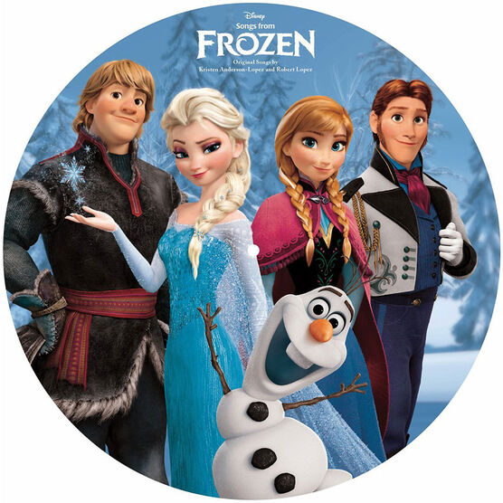 Soundtrack - Songs from Frozen (Picture Disc) - Vinyl