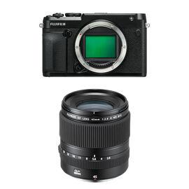 Fujifilm GFX-50R Body Only with Fujifilm GF 45mm F2.8 R WR Lens - PKG #04401