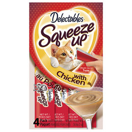 Hartz Squeeze Ups for Cats - Chicken - 4 pack